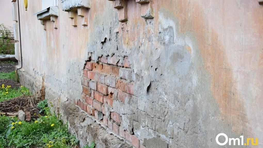 В Омске отремонтируют дома на Богдана Хмельницкого, которые должны были сделать еще к приезду Путина
