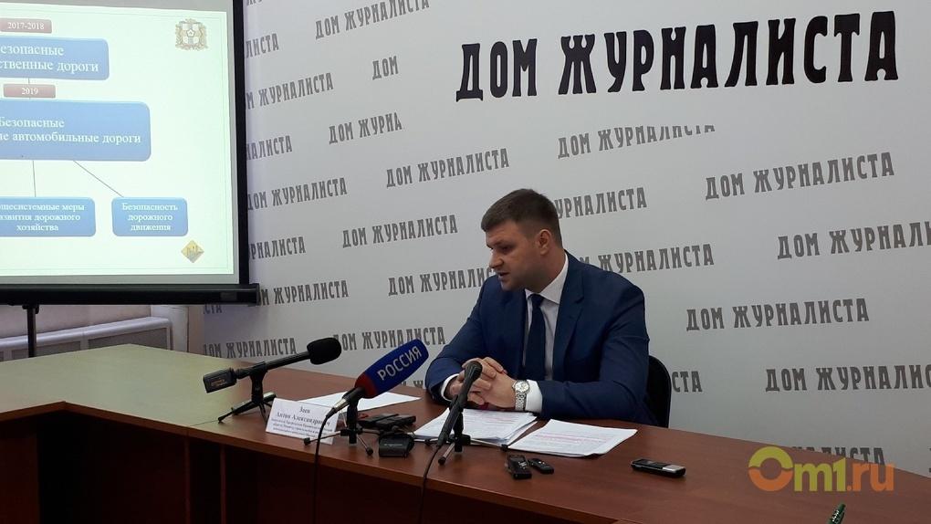 Лишь 36% дорог в Омской области отвечают нормативам