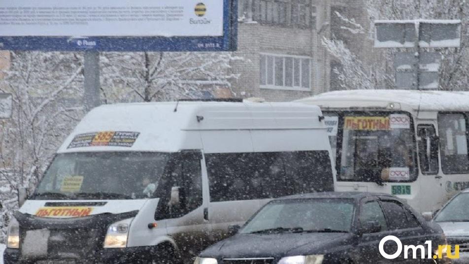 Омский пассажирский транспорт начали готовить к зиме