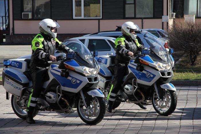 Омских полицейских посадят на мотоциклы