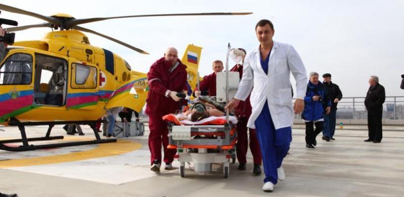 В омской санавиации появится еще один вертолет