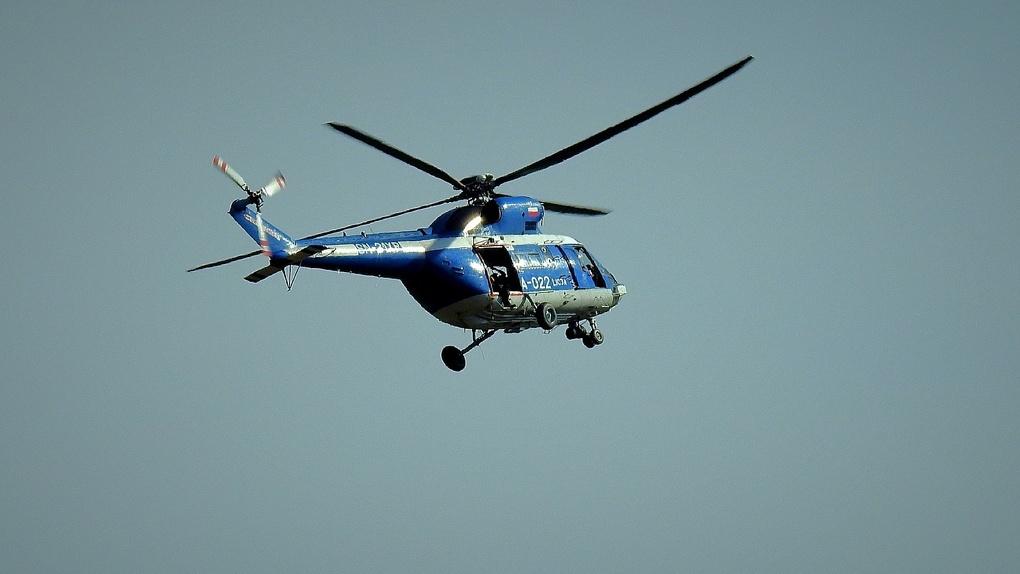 Омские власти опровергли информацию о распылении загадочного лекарства с вертолета