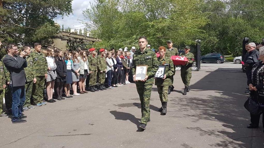 В Омске поисковики передали родственникам останки погибшего в Великой Отечественной войне солдата