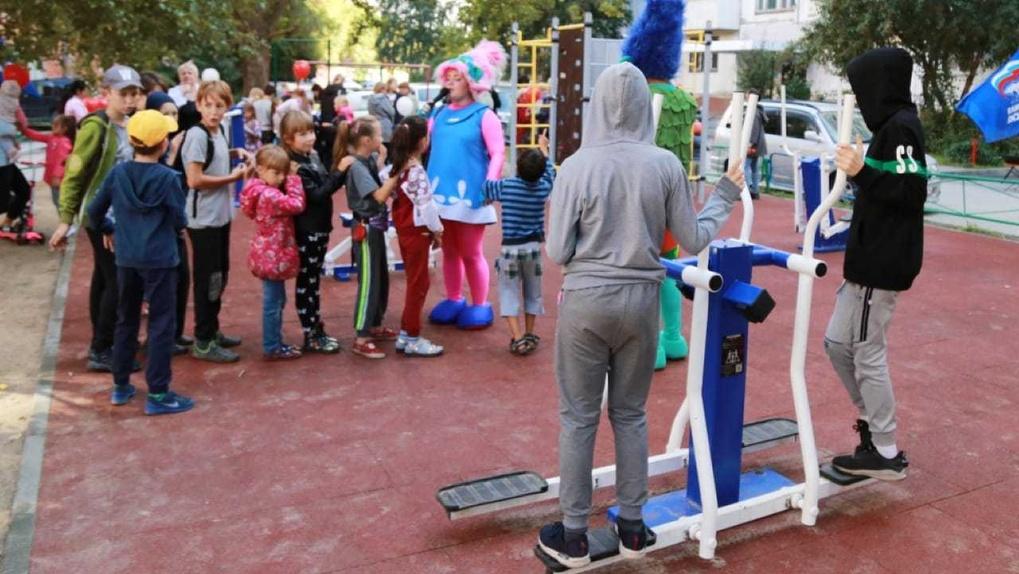 В 2020 году в Новосибирске построят 27 детских площадок