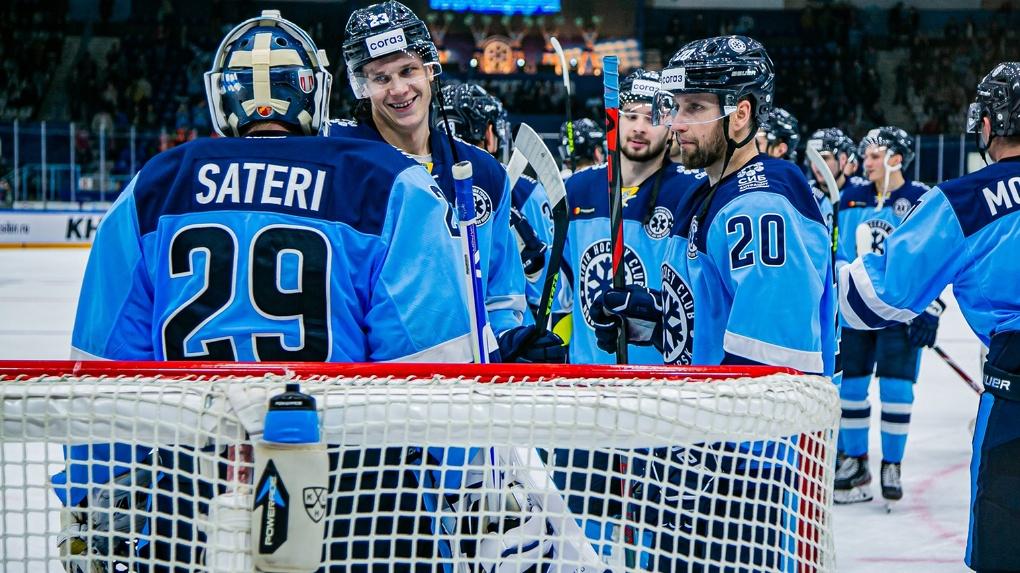 Хоккейная команда «Сибирь» одержала победу в матче КХЛ после четырёх поражений