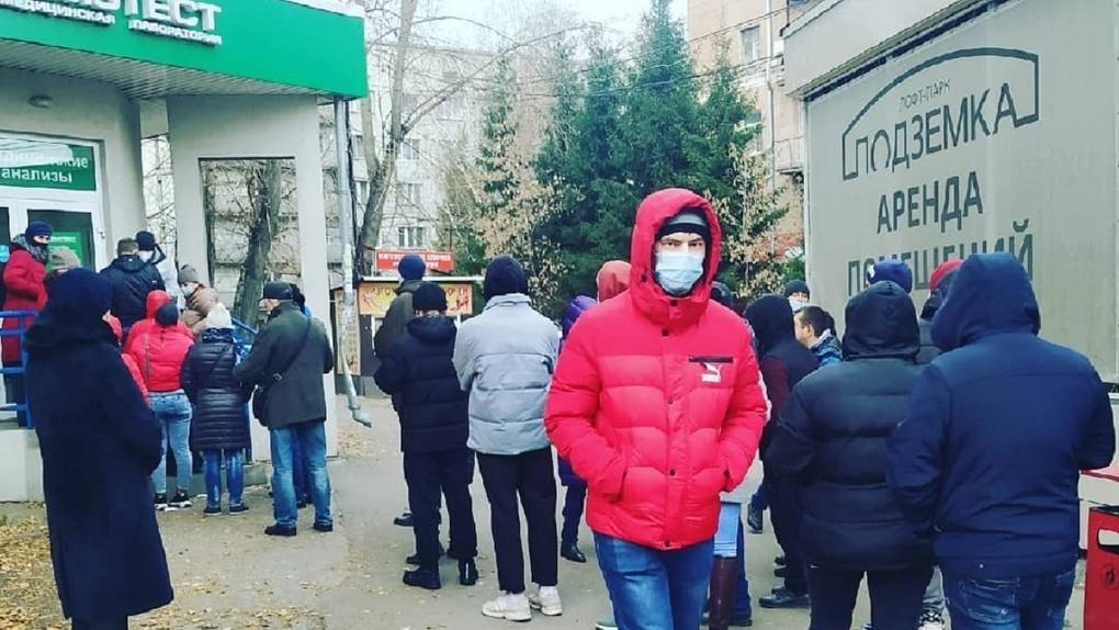 Новосибирского депутата шокировали очереди на тест на коронавирус