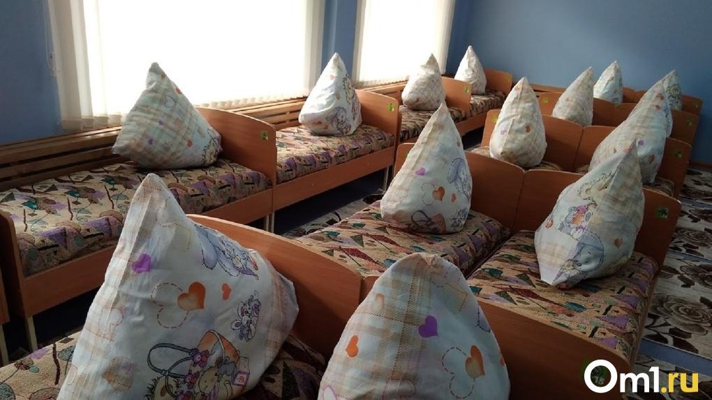 В одном из омских детских садов до сих пор не включили отопление