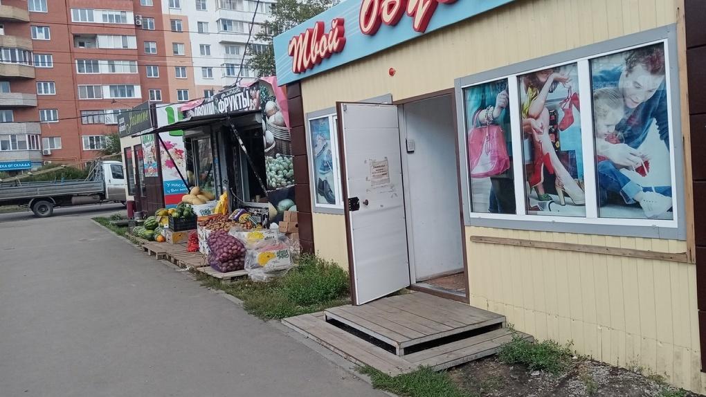 На окраине Омска предприниматель захватывает землю, на которой должна появиться новая дорога