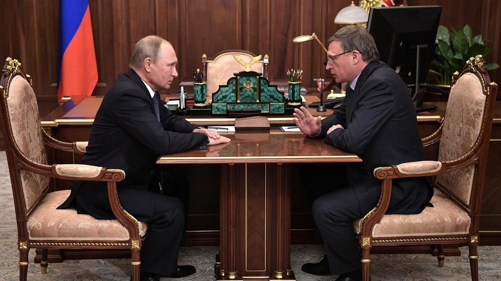 Александр Бурков намерен просить помощи у президента ради строительства в Омске детской больницы