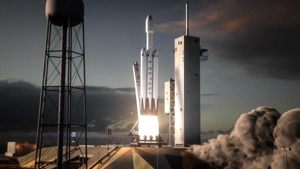 Илон Маск отправит ракету к Марсу под музыку Дэвида Боуи