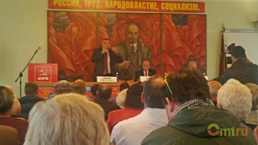 Омские коммунисты призывают бороться с садоводами