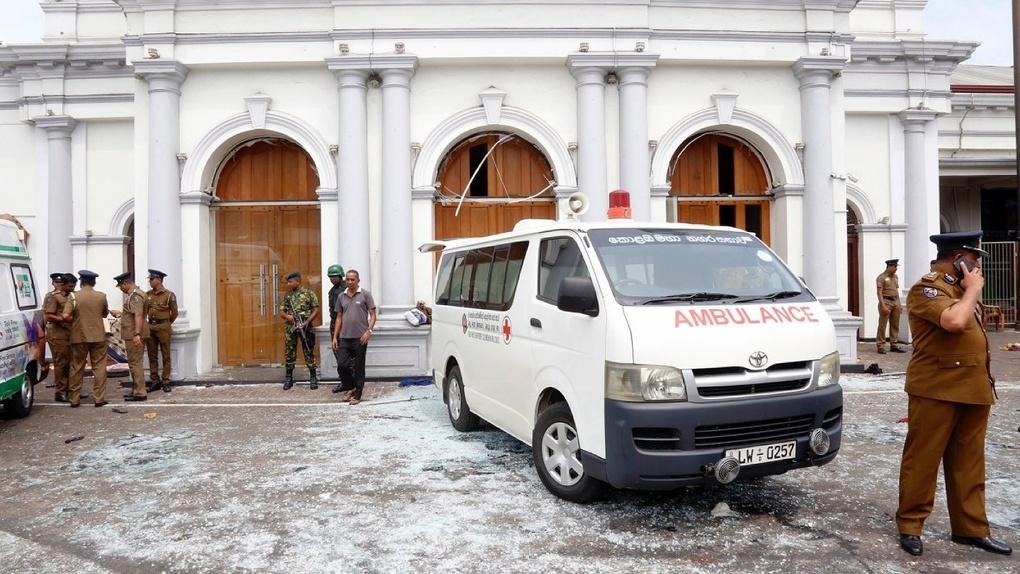 «Пасхальные теракты» в Шри-Ланке: сотни раненых, множество погибших