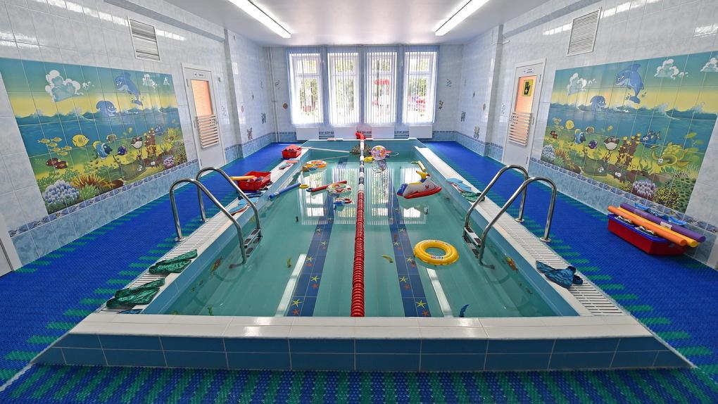 В одном из омских детских садов Чкаловска появился бассейн