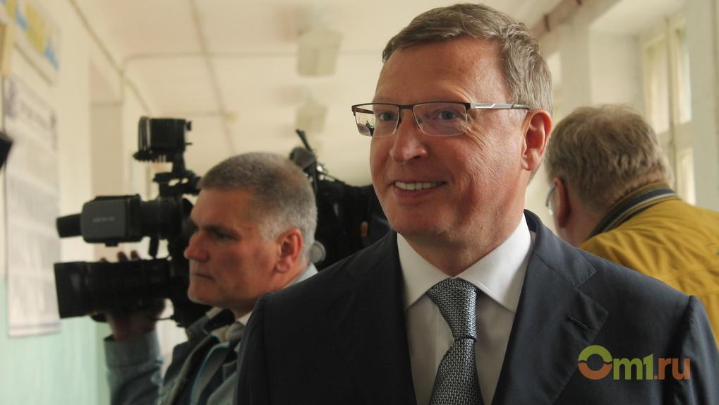 Бурков мечтает возродить Омскую область и вернуть ее в пятерку лучших