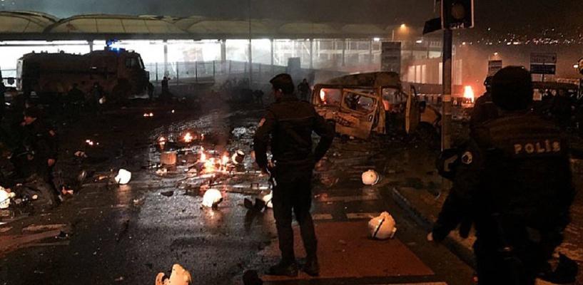 Число жертв двойного теракта в Стамбуле увеличилось до 38