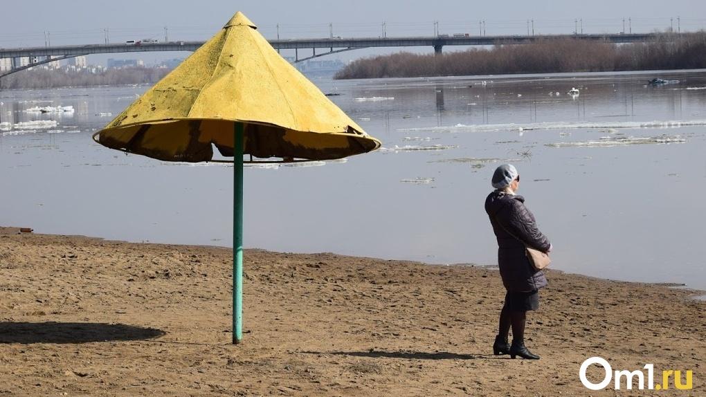 В Омске уже готовятся к пляжному сезону