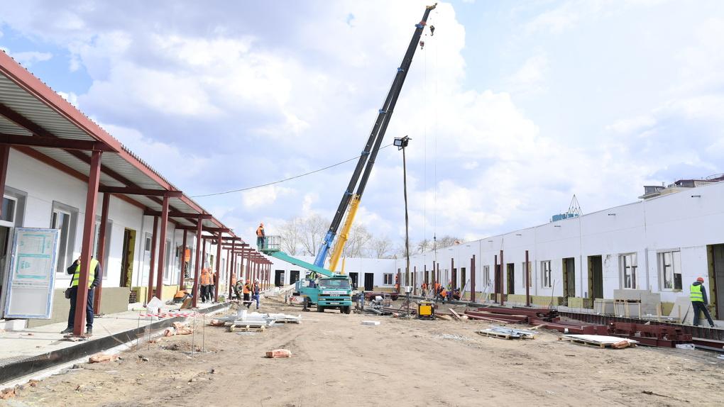 Глава омского Минздрава заявила, что больных COVID-19 начнут принимать в новом госпитале Минобороны
