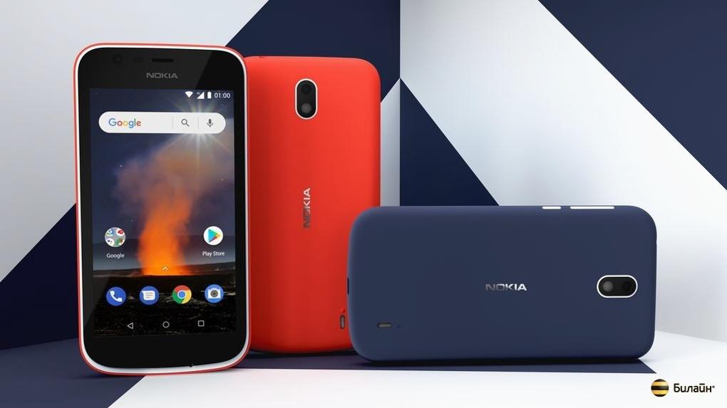 В «Билайн» стартовала продажа новых смартфонов Nokia 1 и Nokia 2.1