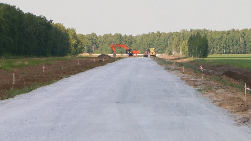 В Омской области завершается строительство дороги между Омским и Кормиловским районами