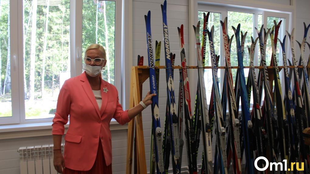 Одобрено олимпийскими чемпионами: в разгар лета в Новосибирске открыли новую лыжную базу