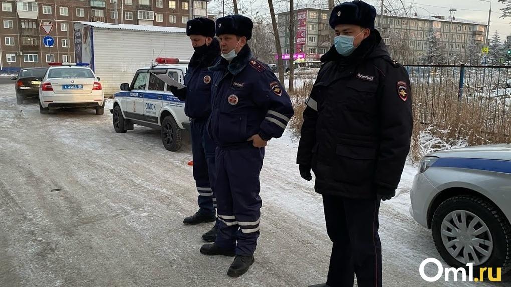 Рейды по паркам и скверам. Полицейские будут контролировать омичей в новогодние праздники