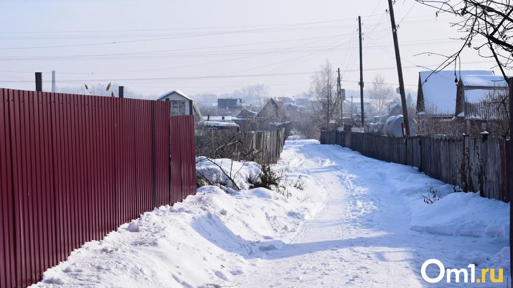 Омичам бесплатно раздадут талоны на снег