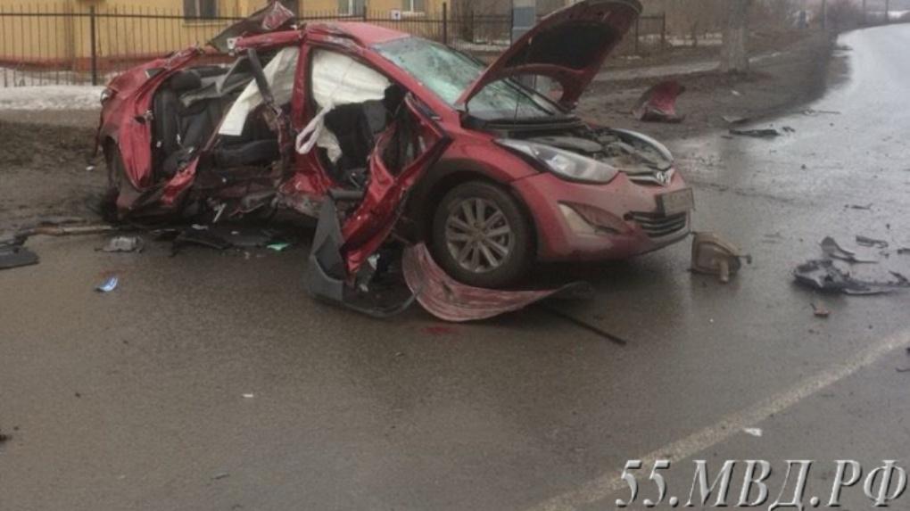 Полиция подтвердила, что аварию на Телецентре в Омске устроил пьяный водитель