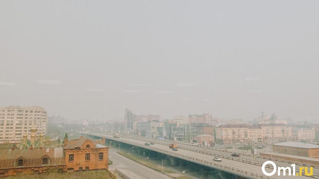 В центре Омска зафиксировали превышение формальдегида в воздухе