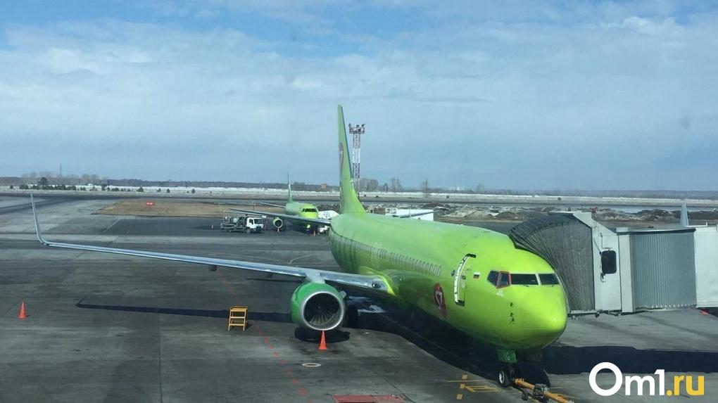Коронавирус повлиял на отмену авиарейсов из Москвы в Новосибирск
