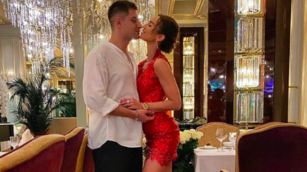 Идеальный вечер: новосибирский блогер Дава и Ольга Бузова поделились романтическими кадрами