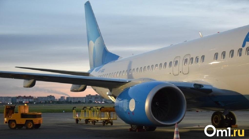 Самолёт из Омска совершил экстренную посадку в Екатеринбурге из-за смерти пассажира