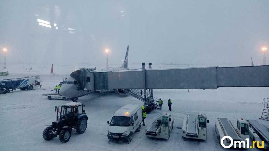 Из Новосибирска отменили семь рейсов в Москву