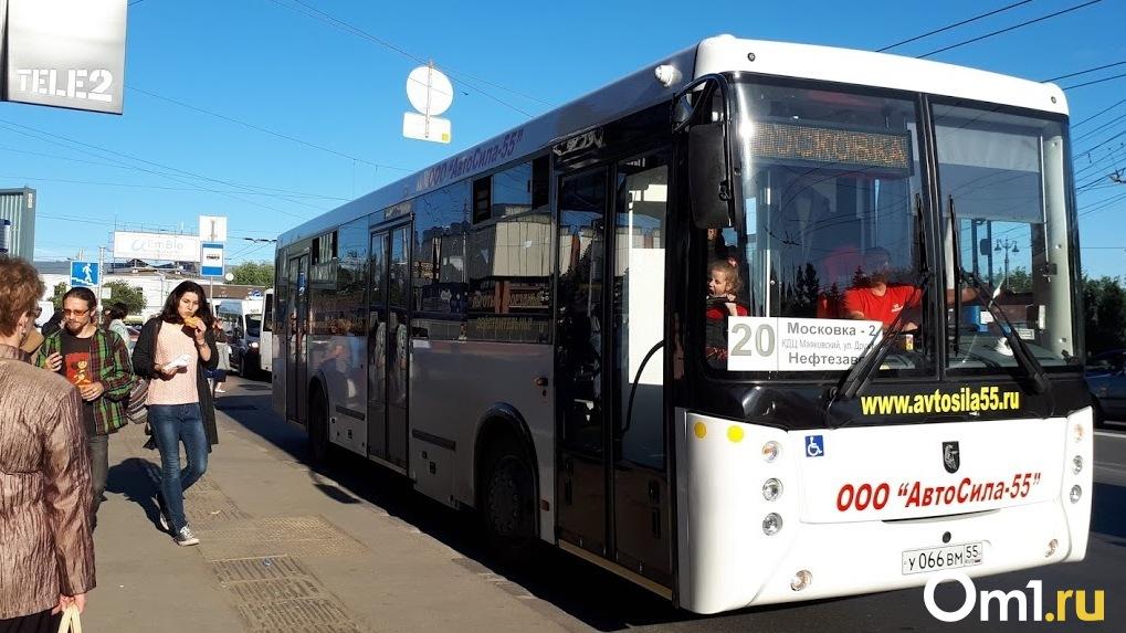В Омске запустят ещё один автобус на природном газе. Он будет ходить по 22-му маршруту