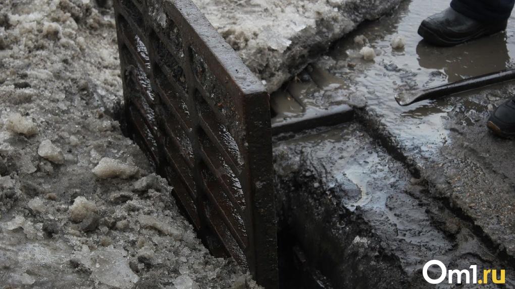 Омск может затопить уже к концу недели. Ожидается обильное снеготаяние