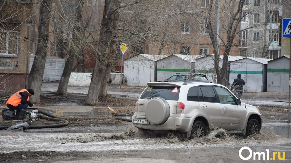 Апрельское наводнение грозит Новосибирску