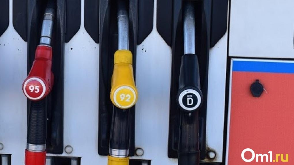 В Омской области закупают бензин по 47 рублей за литр