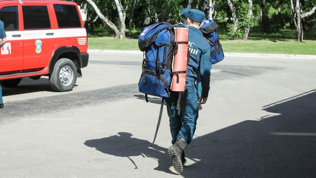 Благодаря МЧС удалось избежать подтопления омского посёлка Затон