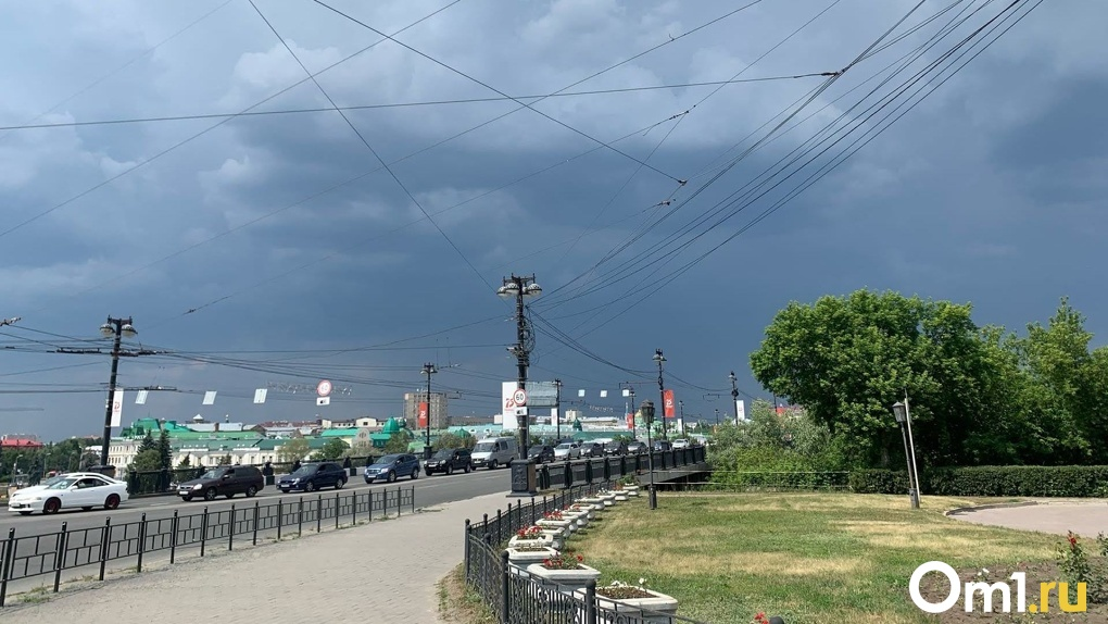 Омичей предупредили о разрушительном штормовом ветре