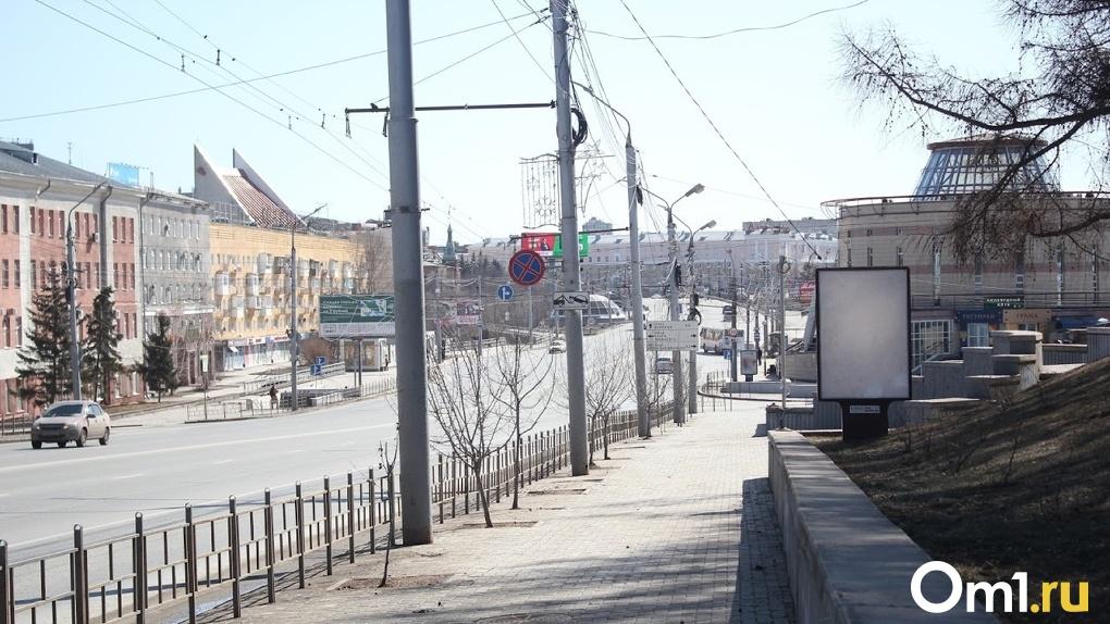 В Омске на перекрестке Масленникова и Декабристов изменилась схема движения