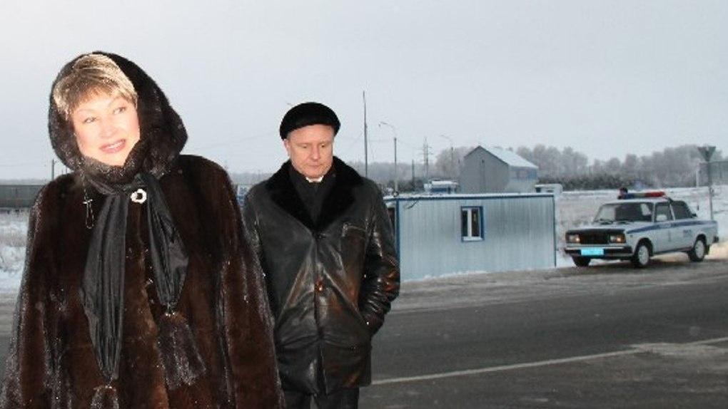 Вижевитова осталась довольна визитом на пункт контроля за вывозом древесины