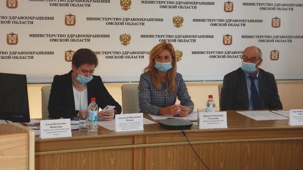Стало известно, кто временно заменит Солдатову в должности министра здравоохранения Омской области