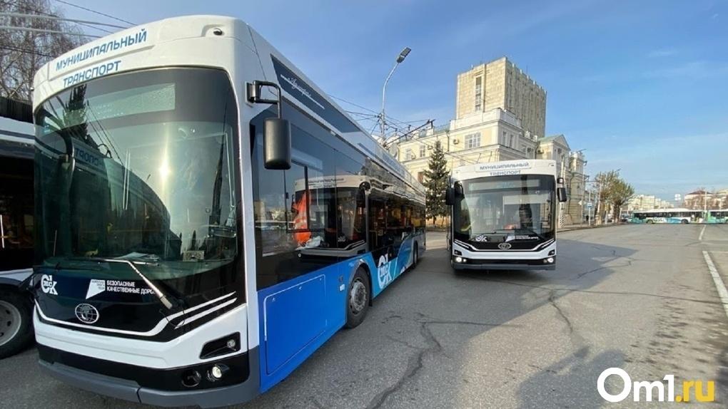 Уже три новых троллейбуса «Адмирал» в Омске нуждаются в ремонте