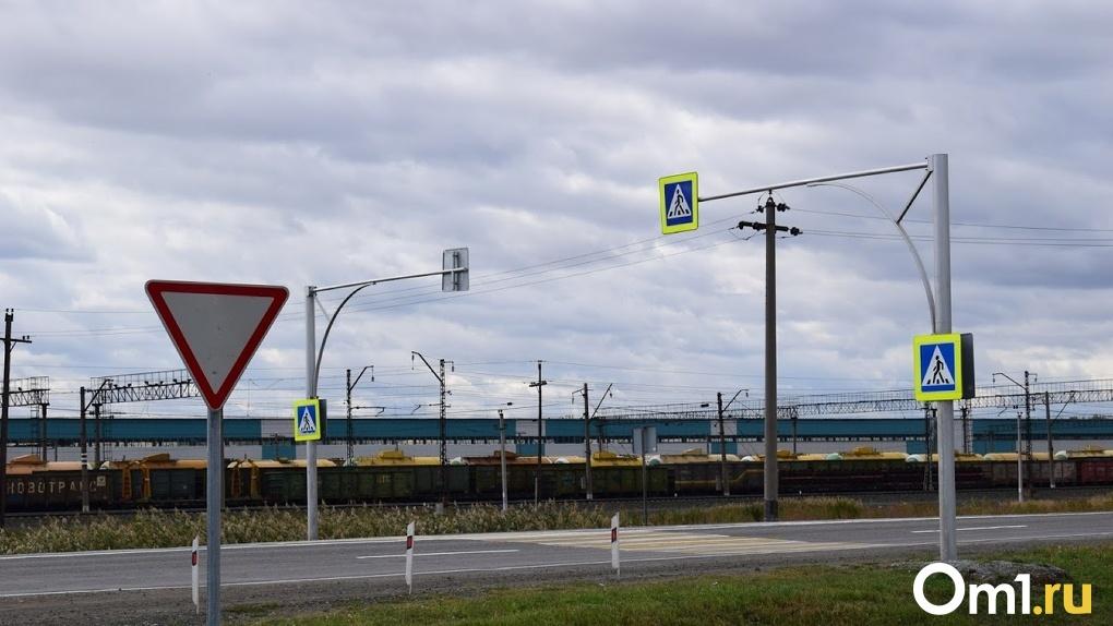 Из-за строительства дороги-дублёра на Левом берегу в Омске изменят схему движения