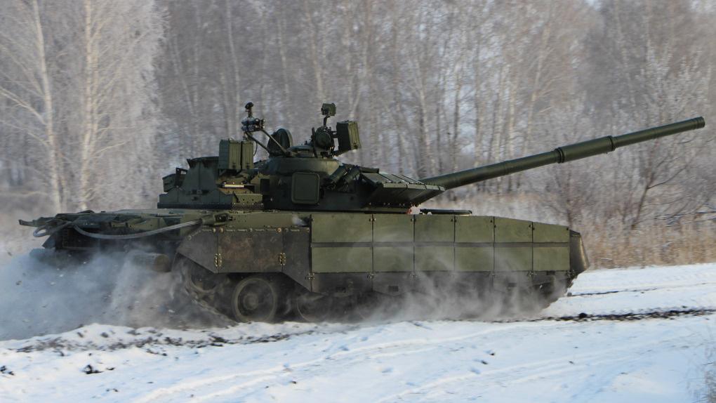 Центр Омска планируют украсить танком Т-80