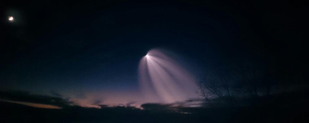 Обзор фото в сети: как в небе проплыла «медуза»