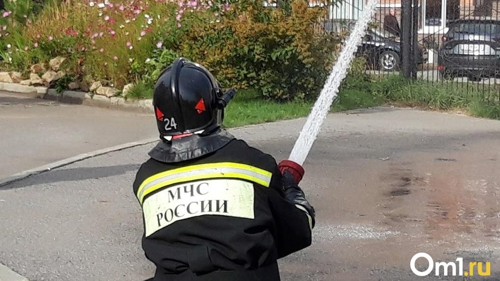 Нечем тушить пожары. Прокуратура спасла жителей омских сел от ЧС