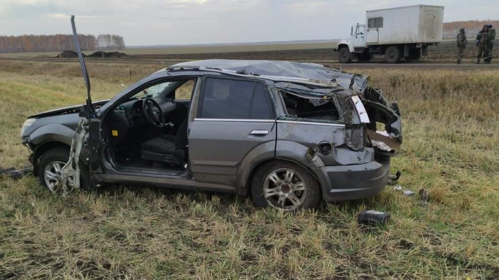 Омичка погибла в аварии на пустой дороге