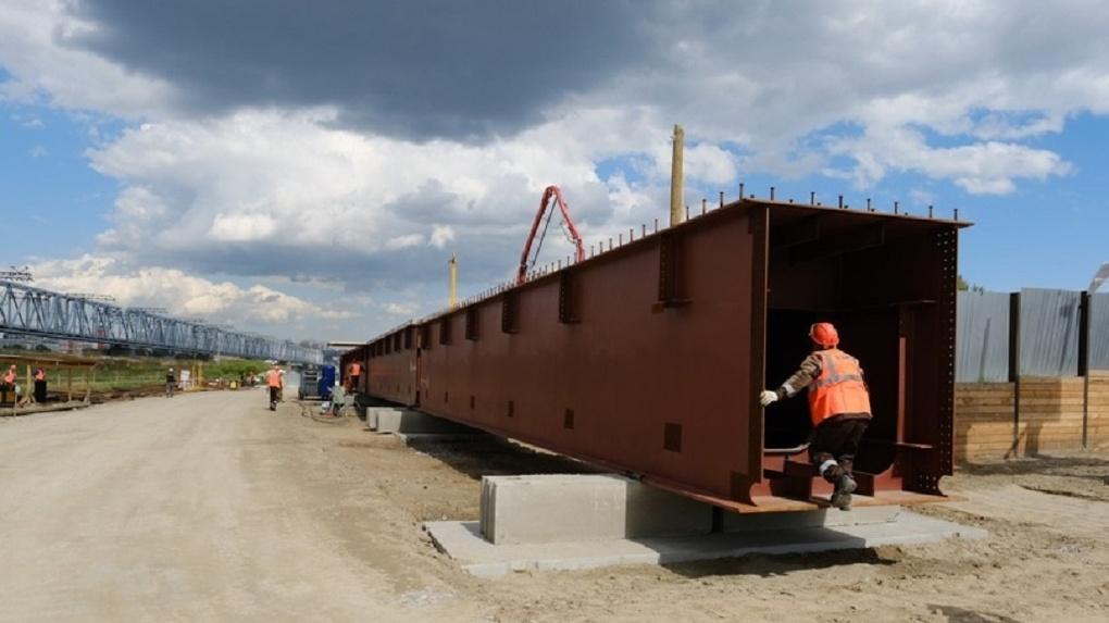 Металл для строительства четвёртого моста в Новосибирске подорожал на 90%