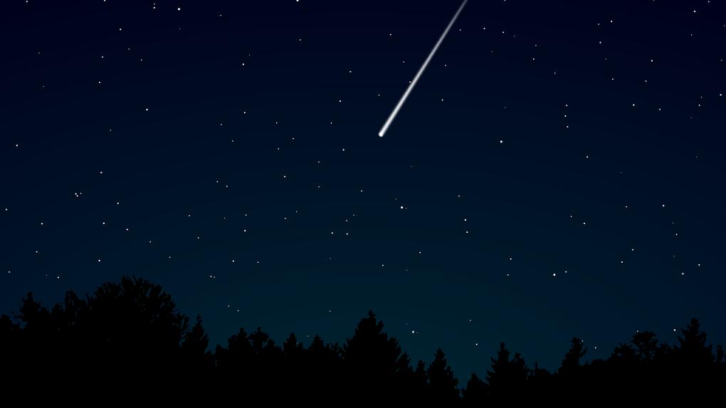 На Новосибирск надвигается метеоритный дождь