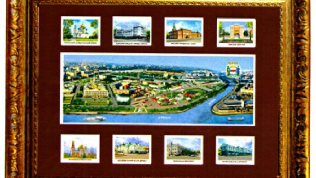 Депутаты разрешили печатать герб Омска на сувенирах Коненко